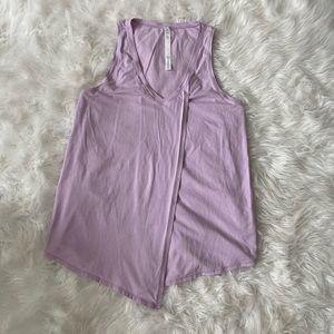Lavender Lululemon Tie Tanktop Size: 8